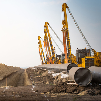 Construction of the Power of Siberia gas pipeline